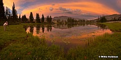 Photographer Uinta Lake Sunset Pano 0722171
