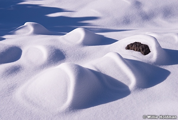 Snow Patterns Boulders 010215 2945