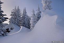 Wasatch Sunset Winter Ridge working 122618 1407 2