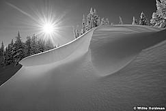 Cornice Wave Snow 120418 9335 5 BW