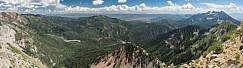 American Fork Canyon Pano