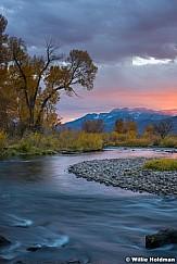 Provo River Sunset 101917 5091 2