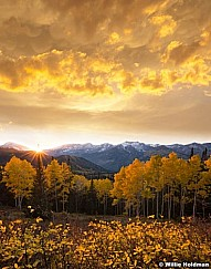 American Fork Canyon Sunset