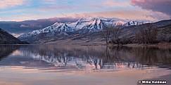 Timpanogos Reflection Deer Creek 020318 1395