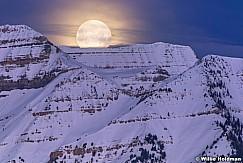 Big Timpanogos Moonset 033118 8732