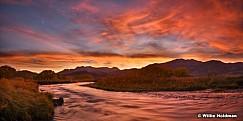 Provo River Amazing Sunset 102317