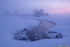Frozen creek Sunrise 021219 7480