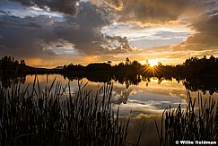 Sunset Reflections Heber 082915 7837