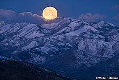 Full moon Wasatch