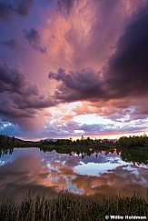 Sunset Reflections Heber 082915 7928