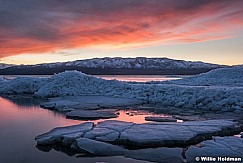 Utah Lake Sunset Ice 021117 4639