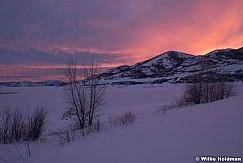 Jordanelle Winter Sunset 020819 7161 5