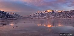 Frozen Deer Creek Reflection 100519 2601