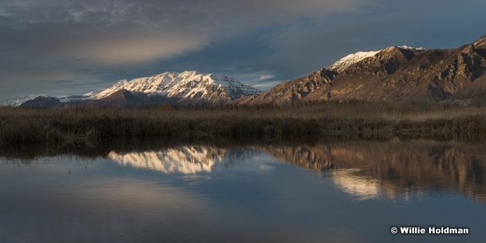 Timpanogos Utah Lake Reflection 030916 5807