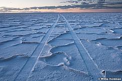 Salt Flats Ridge Lines car tracks 082517 4578