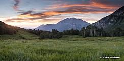 Cascade Timpanogos Sunset 070115