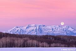 Timpanogos Alpen Glow Moon 011614