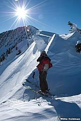 backcountry skiing cascade