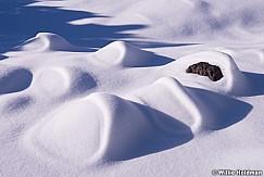 Snow Patterns Boulders 010215 2945