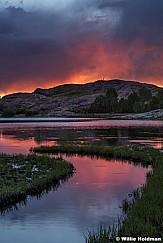 Lake Blanche Sunset 071616 9152 2