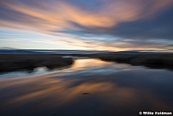 Utah Lake Sunset Abstract 030916 5865