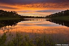 Sunset pond 061217