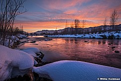 Provo River Sunset 020816 2791 2