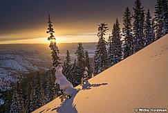 Snake Creek Powder Sunrise 022718 1424
