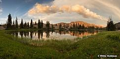 Uinta Lake Sunset 072117
