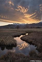 Meandering stream Heber Sunset 112020 3972 3