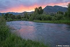Provo River Summer Sunset 072420 3344