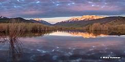 Timpanogos Deer Creek Reflection 040216 20x40