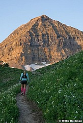 Hiking on Timp 080217