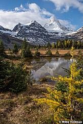 Assiniboine Reflection Clouds 092015 0580
