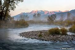 Provo River Misty Sunrise 102215 8052 2