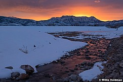 Lake Creek Sunset 022020 3568