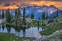 Silver Glsncd Lake Sunset 070815 5994