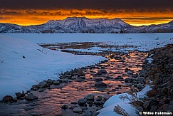 Timpanogos Lake CreekSunset 013020 3226