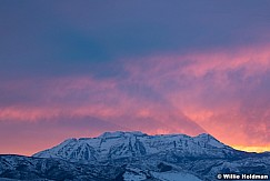 Timpanogos Winter Rays Sunset 022501 3365 4