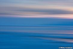 Utah Lake Sunset Abstract 012716 1293