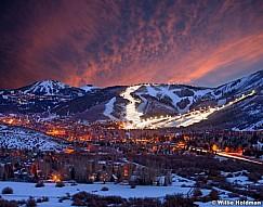 Park City Mountain Resort Sunset 022614 128