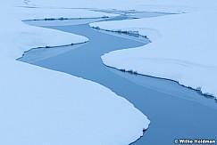 S Curve Winter Stream 011217 Close 0203