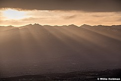 Rays over Heber