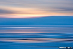 Utah Lake Sunset Abstract 012716 1294