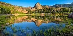 Lake Blanche Reflection 071616