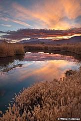 Yellow Provo River Sunset 102420 9036 3