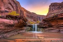 Coyote Gulch Waterfall 110416