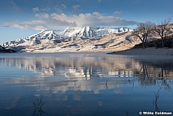 Timpanogos Reflection Deer Creek 120616 6