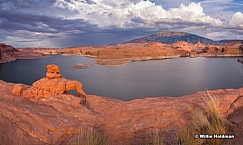 Little Arch Navajo Lake Powell 072519