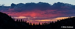 Wasatch Sunset 24x60 070516